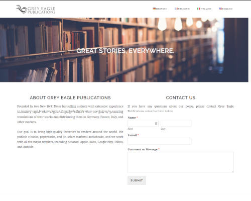 Grey Eagle Publications