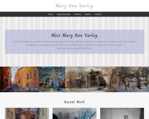Mary Ann Varley